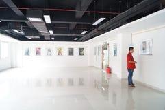 Shenzhen, China: Exposição dos desenhos animados Fotos de Stock Royalty Free
