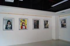 Shenzhen, China: Exposição dos desenhos animados Foto de Stock