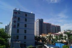 Shenzhen, China: factory building Stock Photo