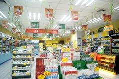 Shenzhen, China: Farmacia Foto de archivo