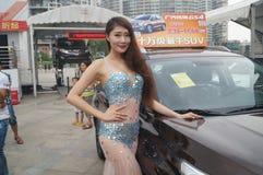 Shenzhen, China: female model show Stock Image