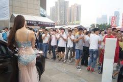 Shenzhen, China: female model show Stock Images