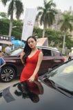 Shenzhen, China: female model show Royalty Free Stock Images