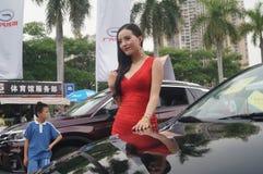 Shenzhen, China: female model show Stock Photo
