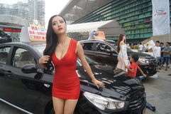 Shenzhen, China: female model show Stock Photos