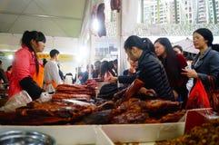 Shenzhen, China: Festival de las compras Fotos de archivo libres de regalías