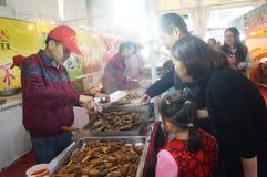 Shenzhen, China: Festival de las compras del Año Nuevo Fotografía de archivo
