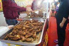 Shenzhen, China: Festival de las compras del Año Nuevo Imagen de archivo