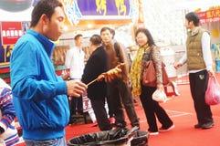 Shenzhen, China: Festival de las compras del Año Nuevo Imagenes de archivo