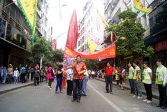 Shenzhen, China: fete parade Royalty Free Stock Photos
