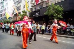 Shenzhen, China: fete parade Stock Images