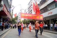 Shenzhen, China: fete parade Stock Image