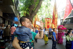 Shenzhen, China: fete parade Royalty Free Stock Photography