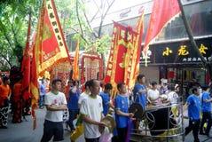 Shenzhen, China: fete parade Royalty Free Stock Images