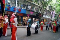 Shenzhen, China: fete parade Royalty Free Stock Image