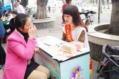 Shenzhen, China: field recruit students Royalty Free Stock Photo