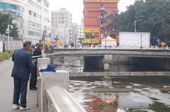 Shenzhen, China: Fishing Stock Images