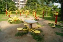 Shenzhen, China: fitness facilities royalty free stock photos
