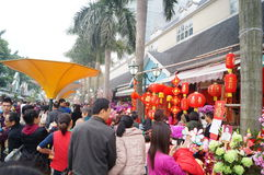 Shenzhen, China: Flower Market Royalty Free Stock Photos