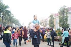 Shenzhen, China: Flower Market Royalty Free Stock Photography