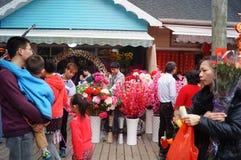 Shenzhen, China: Flower Market Stock Photography