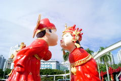 Shenzhen china folk culture villages Royalty Free Stock Image