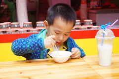Shenzhen, China: Food Festival Royalty Free Stock Photo