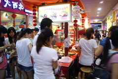 Shenzhen, china: food street Stock Photos