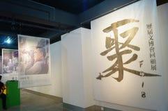 Shenzhen, China: fototentoonstelling f518 Stock Afbeelding