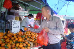 Shenzhen, china: fruit shop Royalty Free Stock Photos