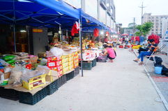 Shenzhen, China: fruit wholesale market Royalty Free Stock Image