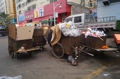Shenzhen, China: garbage transfer points Stock Photo
