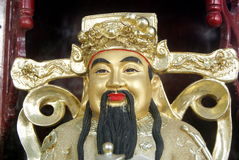 Shenzhen, china: god statue Royalty Free Stock Photography
