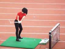 Shenzhen, China: golfe do treinamento Imagens de Stock