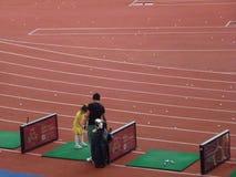 Shenzhen, China: golfe do treinamento Imagem de Stock Royalty Free