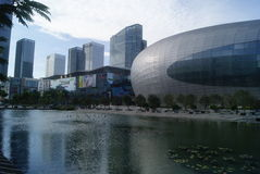 Shenzhen, China: haian cheng architectural landscape Stock Images