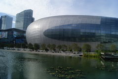 Shenzhen, China: haian cheng architectural landscape Royalty Free Stock Photography