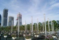 Shenzhen, China: haian cheng architectural landscape Stock Photography