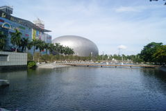 Shenzhen, China: haian cheng architectural landscape Royalty Free Stock Photos