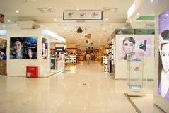 Shenzhen China: haiya warenhuis Stock Foto's