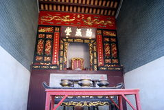 Shenzhen, china: hakka crane lake new homes Royalty Free Stock Images