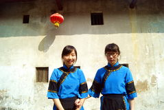 Shenzhen, china: hakka girl Royalty Free Stock Images
