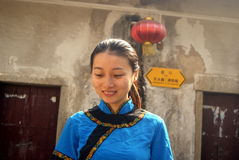Shenzhen, china: hakka girl Stock Photos