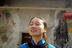 Shenzhen, china: hakka girl Stock Image