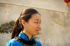 Shenzhen, china: hakka girl Stock Images