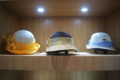 Shenzhen, China: Hat exhibition sales Stock Photo
