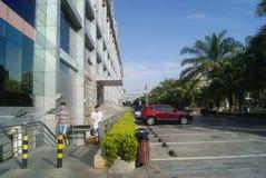 Shenzhen, China: Hengfeng Haiyue Kokusai Hotel Royalty Free Stock Image