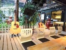 Shenzhen, China: Het Landschap van de koffiewinkel, in Cultureel Industrieterrein stock afbeelding