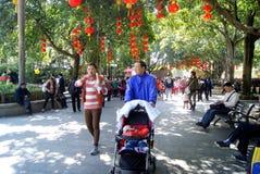 Shenzhen China: het park van het het oostenmeer Stock Foto