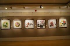 Shenzhen, China: Het schilderen de Werkententoonstelling Royalty-vrije Stock Fotografie